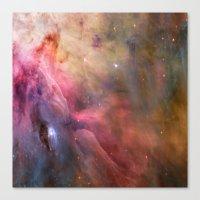 Orion Nebulae Canvas Print