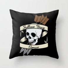 Follow Your Arrow Throw Pillow