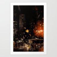 Rye & Rue Art Print