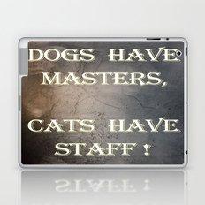 Dogs v Cats Laptop & iPad Skin