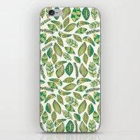 Tropical Jungle Leaves iPhone & iPod Skin