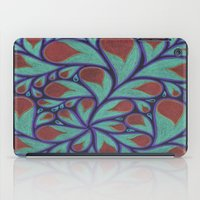 Gold Petals iPad Case
