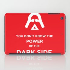 The Power of the Dark Side iPad Case
