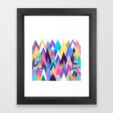 Enchanted Mountains Framed Art Print