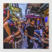 Travel Diary - Istanbul 03 Canvas Print