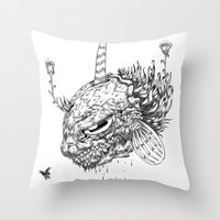 Cycle 2 Throw Pillow