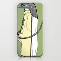 iPhone & iPod Case featuring Sneaker in profile by Sloe Gin Fizz