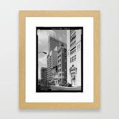 South Calvert Street, Baltimore Framed Art Print