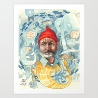 AQUATIC Art Print