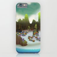 iPhone & iPod Case featuring PEACEFUL LIVING by murdead