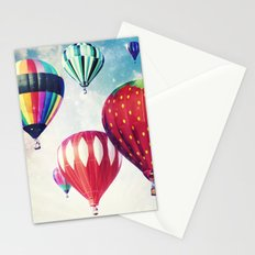 Dreaming of Hot Air Balloons Stationery Cards