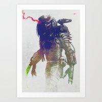 Predator Art Print
