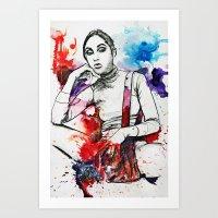 Gray Ana Art Print