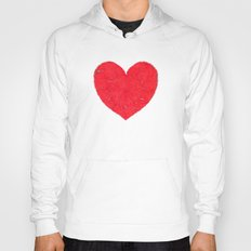 Winter heart. Valentine's day love confession Hoody