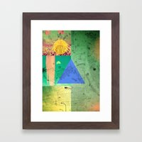COLLAGE  Framed Art Print