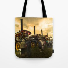 Showmans Engine Twylight  Tote Bag