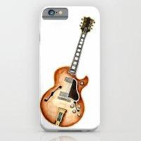 guitar iPhone & iPod Cases featuring Guitar by Bridget Davidson