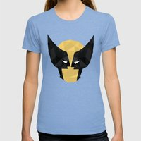 Wolverine Womens Fitted Tee Tri-Blue SMALL