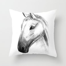 Horse Tales Throw Pillow