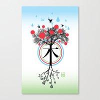 Árbol - 木 - Tree Canvas Print