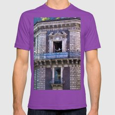 Sicilian Facade Of Baroq… Mens Fitted Tee Ultraviolet SMALL