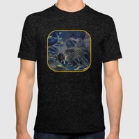 Kiwi, Bats, Morepork And… Mens Fitted Tee Tri-Black SMALL