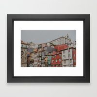 Charming Colours Framed Art Print