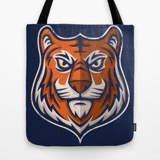 Tiger Shield Tote Bag