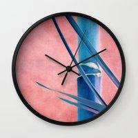BAMBOU BLEU Wall Clock