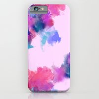 Printed Silk Rose Clouds iPhone 6 Slim Case