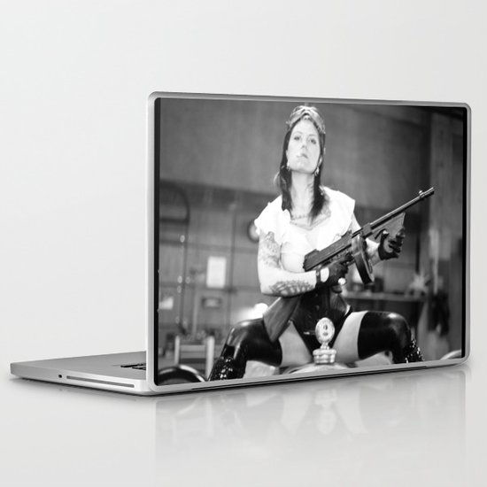 Vivian Del Rio Laptop & iPad Skin
