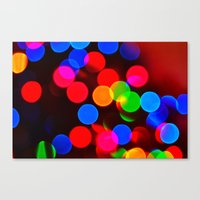 Festive Sparkle Canvas Print