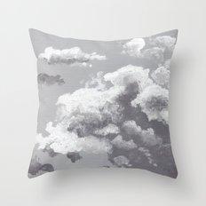 Clouds I Throw Pillow