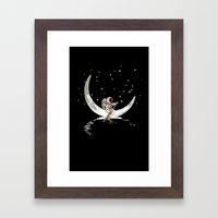Sailing Cross the Sky Framed Art Print