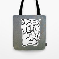 Bear 4 Tote Bag