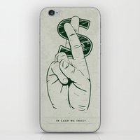 In Cash We Trust. iPhone & iPod Skin