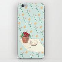 Xmas of cat iPhone & iPod Skin