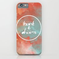 iPhone & iPod Case featuring Follow Your Heart & Chase Your Dreams  by Casey Lynn Designs