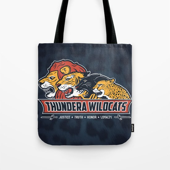 Thundera Wildcats Tote Bag