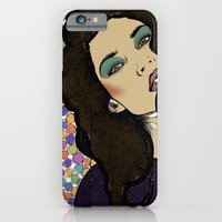 iPhone & iPod Case featuring Dotty Girl by Samantha J Creedon