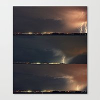 Stormed II Canvas Print