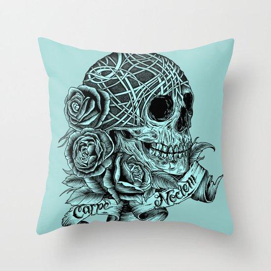 Carpe Noctem (Seize the Night) Throw Pillow