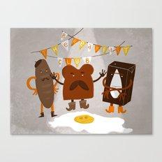 Breakfast club Canvas Print