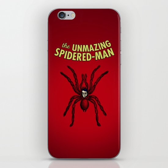The Unmazing Spidered-Man iPhone & iPod Skin