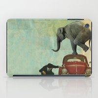 Looking For Tiny _ Eleph… iPad Case