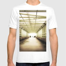 Almost There Mens Fitted Tee White SMALL