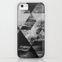 iPhone Cases featuring Abstract Sea by cafelab