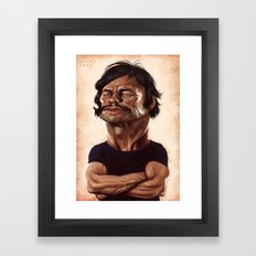 Bronson Framed Art Print