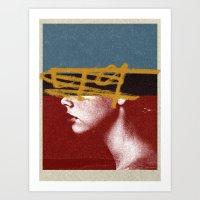 49   Collage Art Print