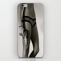 Bad Ass Babe iPhone & iPod Skin